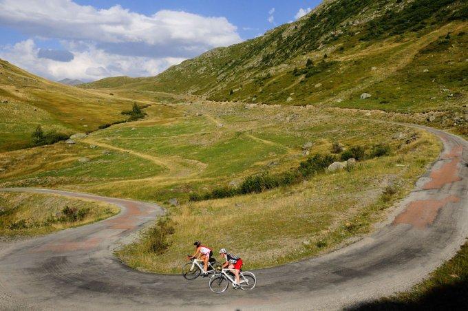 Alpe d'Huez, the wild climb