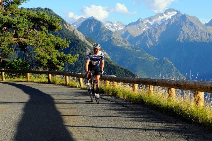 Alpe d'Huez, the quiet climb