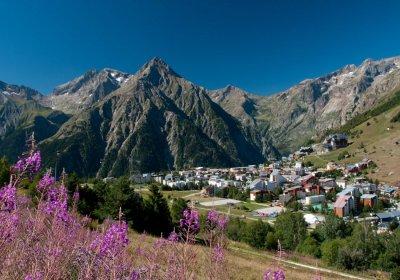Les Deux Alpes by e-bike